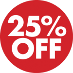 Special 25% Discount Offer