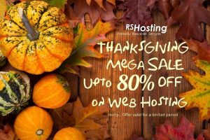 ThanksGiving Web Hosting Discount Offers
