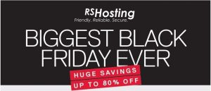 Web Hosting Blackfriday deals discounts offers