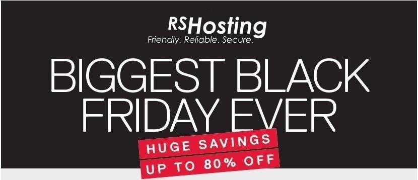 Web Hosting Blackfriday deals discounts offers