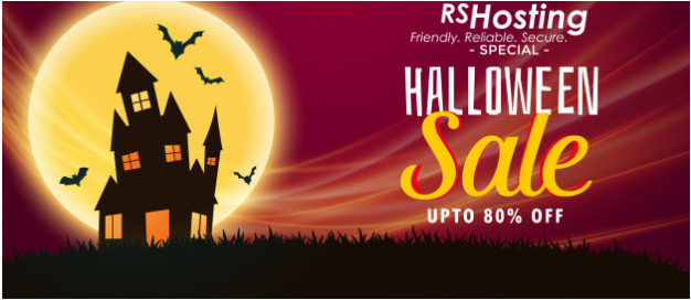 Web Hosting Halloween Sale